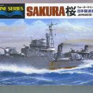 Tamiya Sakura Japanese Navy Destroyer # 31429, 9.2 NM -