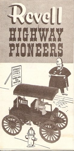 Inst Sheet 1907 Sears Buggy Highway Pioneers