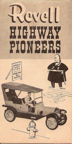Inst Sheet 1910 Pierce Arrow Highway Pioneers