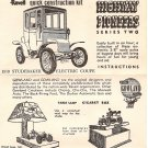Inst Sheet 1910 Studebaker Electric