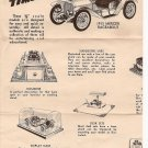 Inst Sheet 1913 Mercer Raceabout