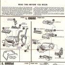 Inst Sheet 1934 Ford Pickup Street Rods
