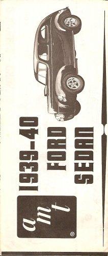 Inst Sheet 1939-40 Ford Sedan