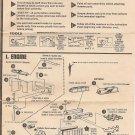 Inst Sheet 1953 Corvette