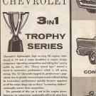 Inst Sheet 1957 Chev 3 in 1 Trophy Series