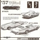 Inst Sheet 1957 T Bird 3 in 1