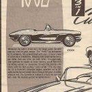 Inst Sheet 1962 Corvette 3 in 1