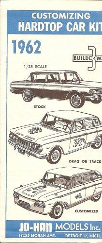Inst Sheet 1962 Rambler Classic Build 3 Way