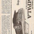 Inst Sheet 1965 Chev Impala Conv 3 in 1