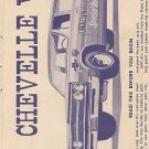 Inst Sheet 1965 Chevelle Wagon