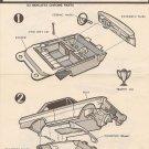 Inst Sheet 1965 Chevy ll Craftsman Ser