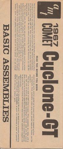 Inst Sheet 1967 Comet Cyclone GT