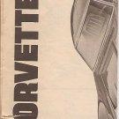 Inst Sheet 1968 Corvette Sting Ray
