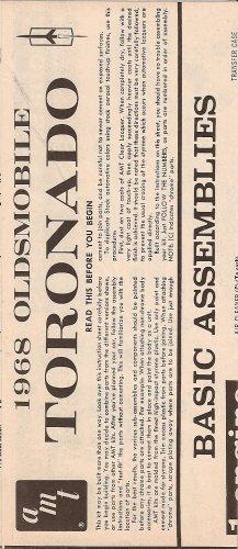 Inst Sheet 1968 Olds Toronado