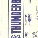 Inst Sheet 1969 Thunderbird Blueprint