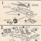 Inst Sheet 1970 Cobra