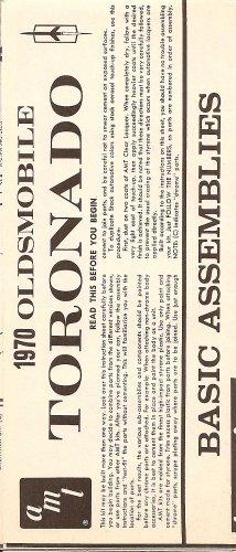Inst Sheet 1970 Olds Toronado