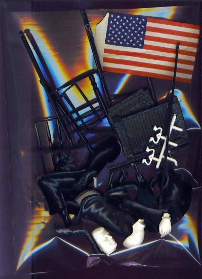 John F. Kennedy Right Shoe # 18, 9.4 NM