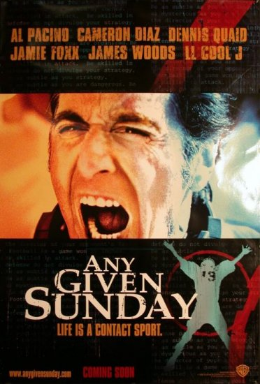 Any Given Sunday # 1, 9.4 NM
