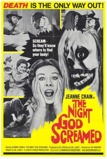 Night God Screamed # 1, 8.0 VF