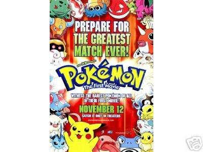 Pokemon: The First Movie # 1, 9.4 NM