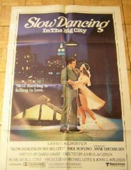 Slow Dancing In The Big City # 780192, 9.0 VF/NM