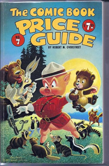 1977 Overstreet PriceGuide # 7, 7.0 FN/VF
