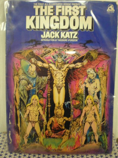 THE FIRST KINGDOM # 1, 3.5 VG -