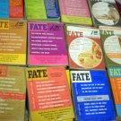 VINTAGE FATE PAPERBACK LOT OF 20 # 20, 2.0 GD