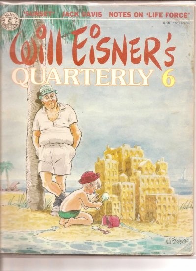 WILL EISNER'S QUARTERLY 6 # 1, 4.0 VG