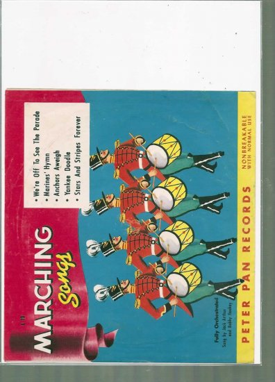1950 MARCHING SONGS  7 # 1, 4.0 VG