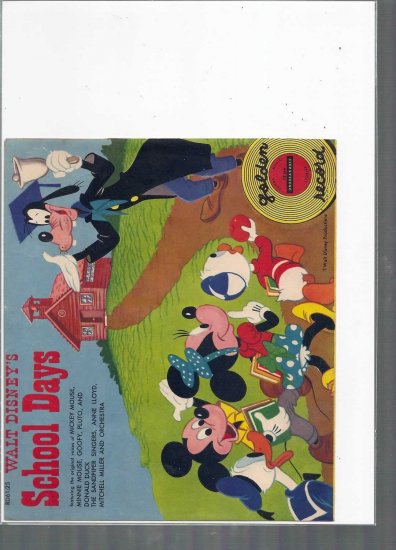 1950'S WALT DISNEY SCHOOL DAYS  7 # 1, 5.5 FN -