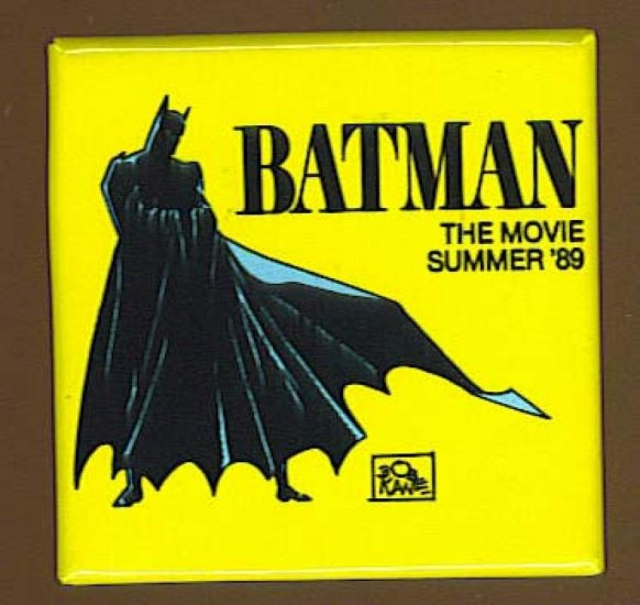 Batman The Movie Button # 1, 9.2 NM -
