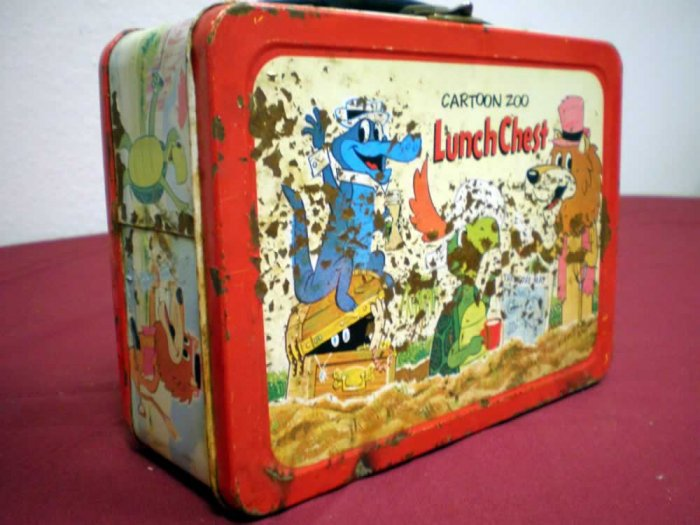 CARTOON ZOO LUNCH CHEST LUNCH BOX, 1.0 FR