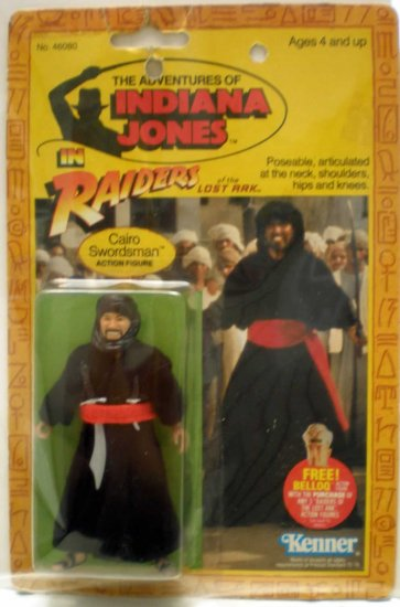 INDIANNA JONES RAIDERS 1982 CAIRO # 1, 4.0 VG