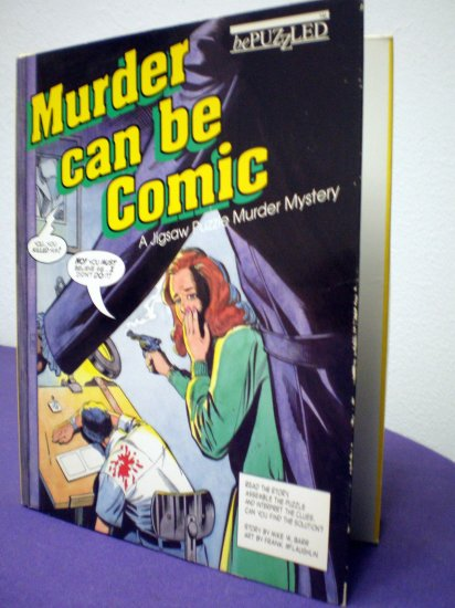 Murder Can Be Comic Jigsaw Puzzle # 1, 8.0 VF