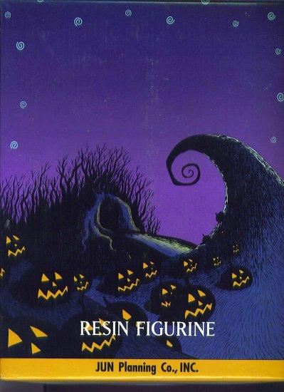 Nightmare Before Christmas Pumpkin King Resin Desktop Figurine Box # 96, 9.2 NM -