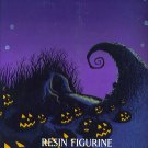 Nightmare Before Christmas Pumpkin King Resin Desktop Figurine Box # 96, 9.2 NM -