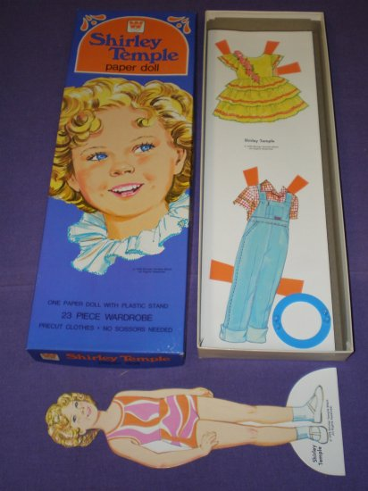 SHIRLY TEMPLE PAPER DOLLS # 4388, 9.4 NM