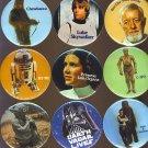 Star Wars Luke Skywalker Button # 1, 9.4 NM