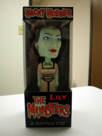 The Munsters  Wacky Wobbler - Lily Munsters # 1, 9.4 NM