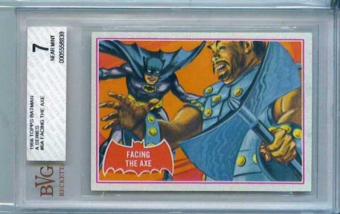 BVG GRADED 1966 BATMAN CARD # 6, 7.0 FN/VF