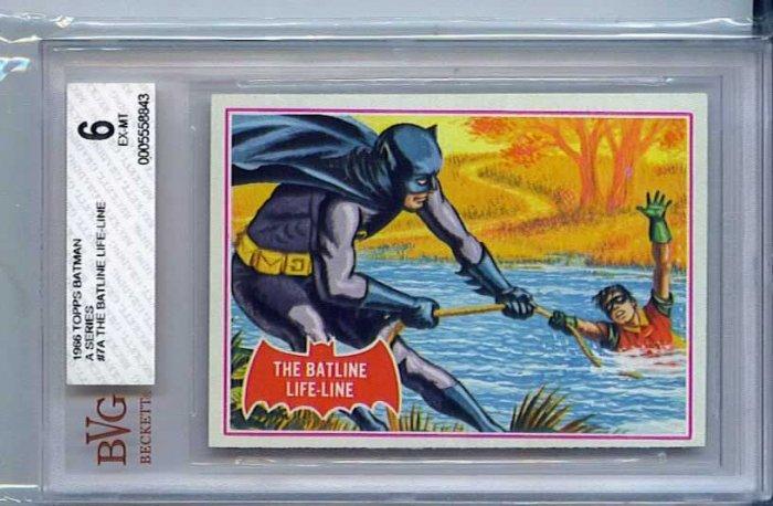 BVG GRADED 1966 BATMAN CARD # 7, 6.0 FN