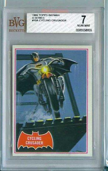 BVG GRADED 1966 BATMAN CARD # 10, 7.0 FN/VF