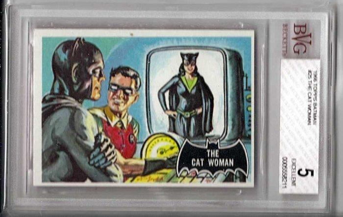 BVG GRADED 1966 BATMAN CARD # 25, 5.0 VG/FN
