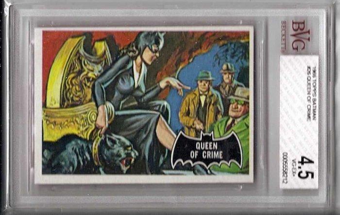 BVG GRADED 1966 BATMAN CARD # 26, 4.5 VG +