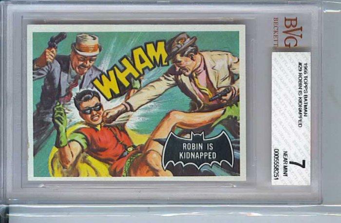 BVG GRADED 1966 BATMAN CARD # 29, 7.0 FN/VF