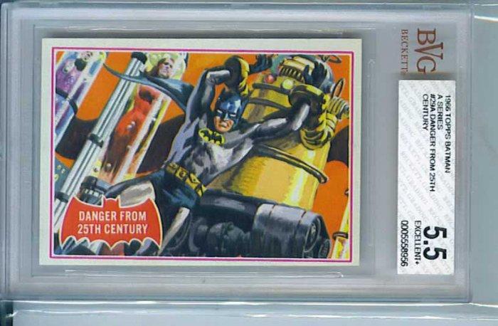 BVG GRADED 1966 BATMAN CARD # 29, 5.5 FN -