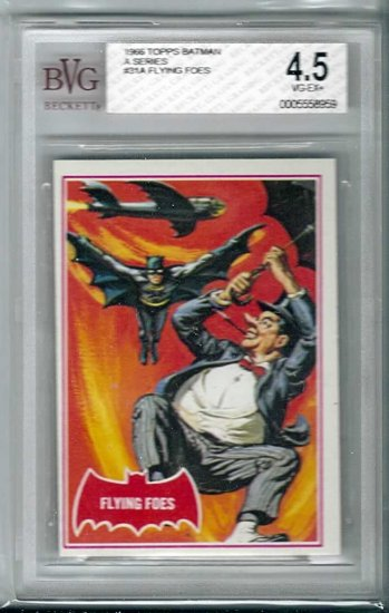 BVG GRADED 1966 BATMAN CARD # 31, 4.5 VG +
