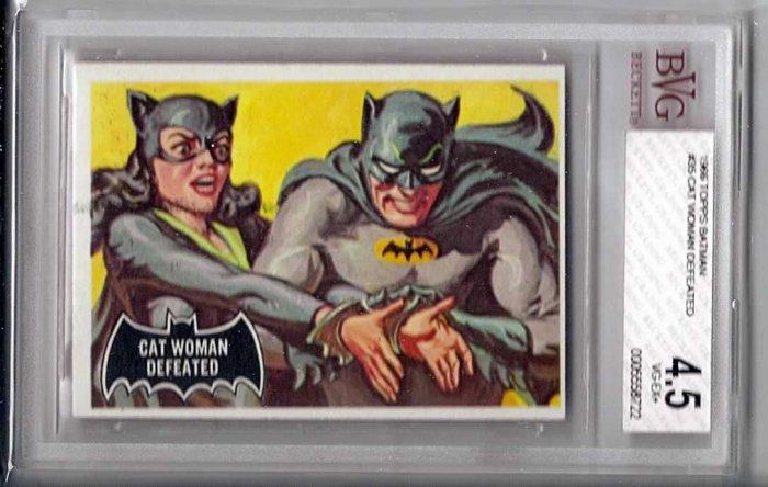 BVG GRADED 1966 BATMAN CARD # 35, 4.5 VG +